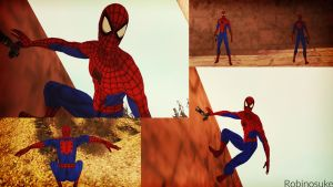 Amazing Spider-Man GTA SA Skin by robinosuke
