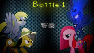 Pony Kombat 3 Round 1, Battle 1 by Mr-Kennedy92