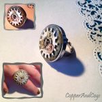 'Silver Cog' ring by CopperAndCogs