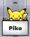 PIKAsign by PIKAcolax
