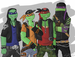 The Street Punks by SugarUP