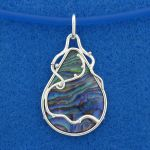 Deep Blue Pendant by harlewood
