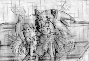 :Scourge and Amy: by HilytheBest