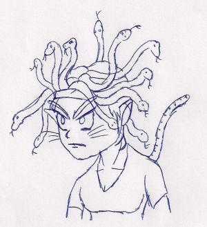 Evil Kitty Medusa
