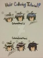 Hair coloring tutorial by ShutteringLight