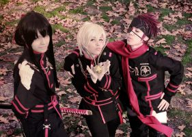 Photo pose - D gray man by Sally-hiou