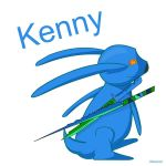 Kenny (rabbit form) by StickyKenny