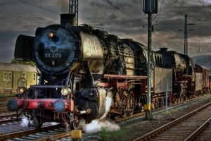 Steam Train by Linkineos