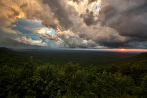 Mt. Cheaha HDR by ANuckols