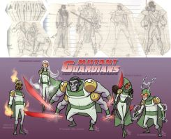 Mutant Guardians 1992 - 2010 by DBed