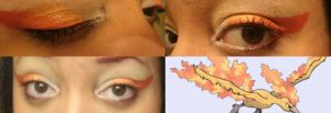 Moltres Gijinka MakeUp Test by Double-A-Cosplay