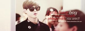Cover Quotes Suho - EXO by TCS  by TramCucheoSociu