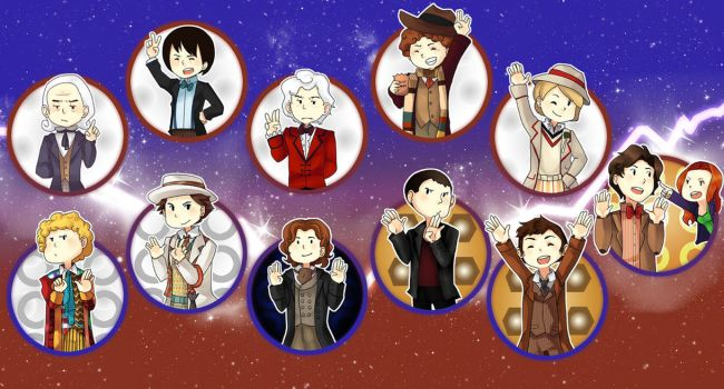 The Doctor With Eleven Faces by Myku
