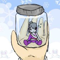 PIXAL in a  jar by WriterGirl64
