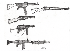 Weapons Study: German WWII by Marpaparp