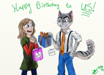 It's Our Birthday! by Dawning-Rose