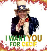 I Want You for Cecif by Shinacman