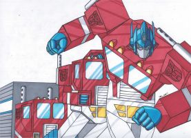Optimus Prime TRANSFORM by RobertMacQuarrie1
