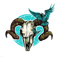 ram skull by ThingWithEyes