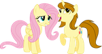 A Talk with Fluttershy and Swoop (Commission) by DeathNyan