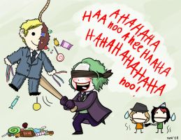 Joker Has Too Much Fun by Batata-Tasha