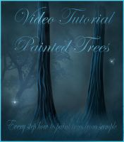 Fairy Trees Tutorial by moonchild-ljilja