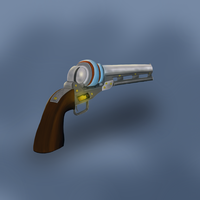 Modified Navy Colt 1851 by Desolated-Heath