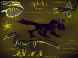 DB:Tainted Gold-Ciphelus art reference sheet by BlackDragon-Studios