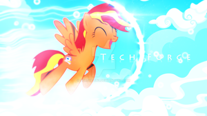 Tech Forge Wallpaper Commission by CursyPon3