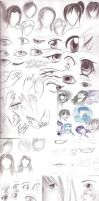 SKETCH DUMP WHOO. by demonmiko82