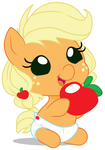 Will Give Apple For Hugs by Beavernator