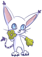 Gatomon by DeerKitten