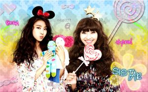 Wall Bora and Hyorin (Sistar) by RainboWxMikA
