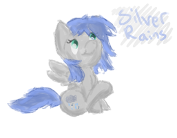 Silver Rains Doodle by MartyMurray