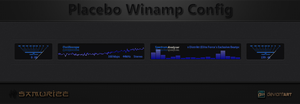 Samurize Placebo Winamp Config Low CPU usage by WwGallery