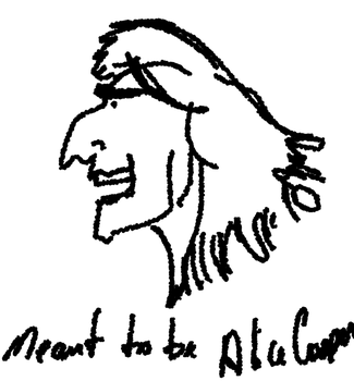 Meant to be Alice Cooper by Katerete
