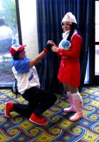 ALA11-Ash Proposes to Dawn by moonymonster