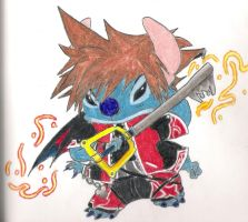 Sitch as sora in valor form by HellsKitten