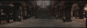 Masyaf -  Entrance Hall by Murcuseo