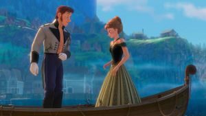 Disney's Frozen Anna + Hans my eyes are up here by cdpetee
