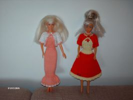 Clothes for Barbie dolls 1 by ToveAnita
