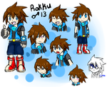 Rokku Reference Sheet (Commission) by CrystalMyu
