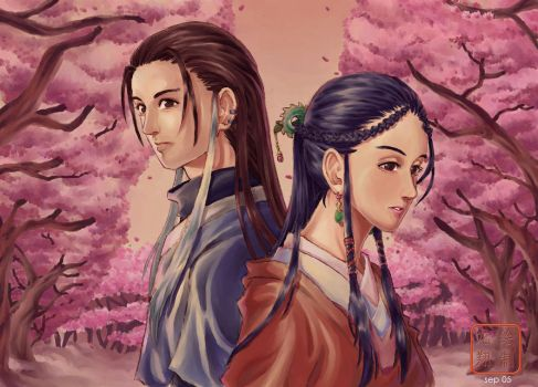 The legend of condor heroes 01 by ShinRyuShou