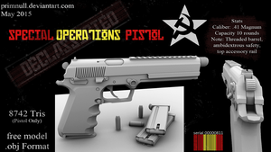 Operator PM Special Operations Pistol by primnull