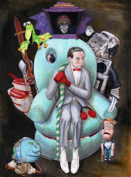 Right Hand of the King of Cartoons by crossstreet