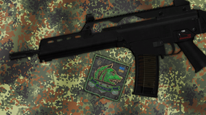 Freedom G36K Rail System by crowhitewolf