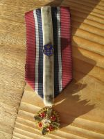 Military-inspired Honor medal ribbon with gear by ProfessorBats