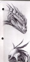 2 Dragon Heads by Canyx