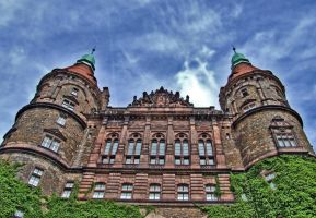 Ksiaz Castle by louveska