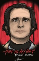 andy kaufman - man on the moon by LephistoDesign